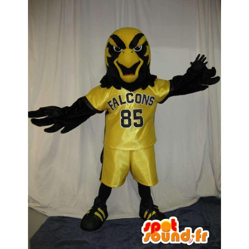 Falcon mascot football, soccer disguise - MASFR002039 - Mascot of birds