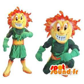 Duo mascote representantes scamps de Darkover - MASFR002042 - Mascotes Boys and Girls