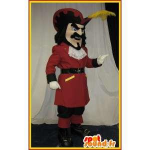 Pan maskotka z 17 wieku, historyczny kostium