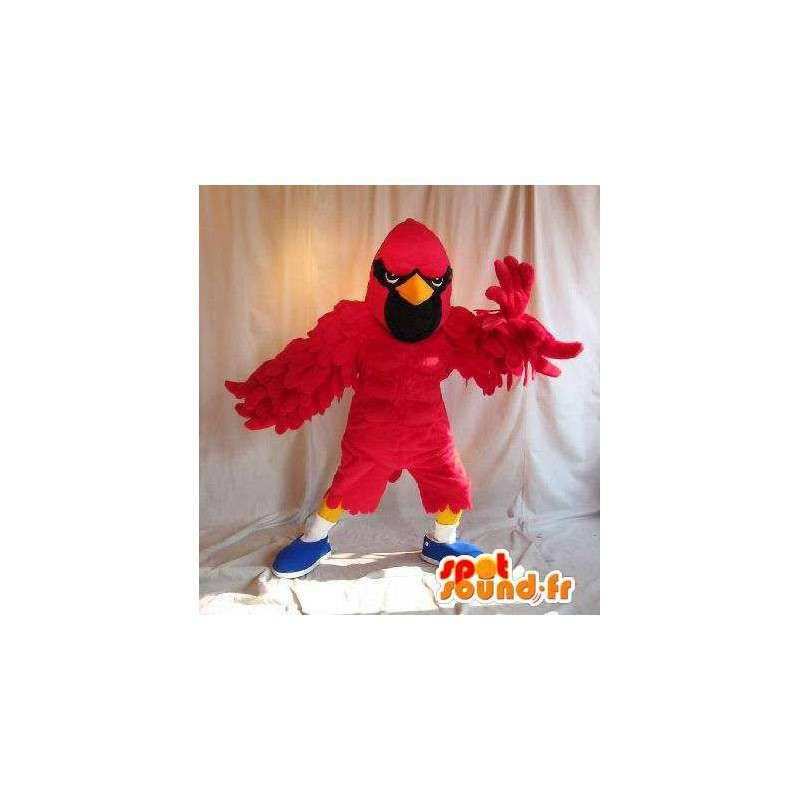 Red Hawk ninja de la mascota del traje de batalla - MASFR002048 - Mascota de aves