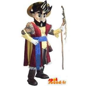 Maskotti edustaa pyhiinvaeltaja, pyhiinvaeltaja puku - MASFR002055 - Mascottes Homme