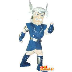 Mascot die einen gallischen Krieger historischen Kostüm