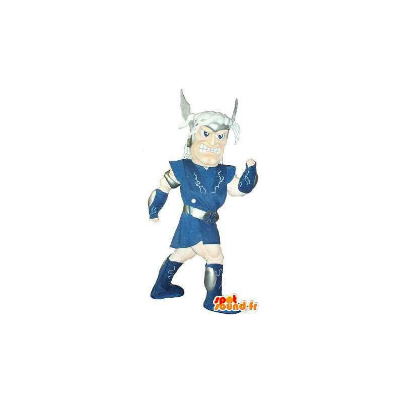 Mascot que representa a un guerrero galo, traje histórico - MASFR002056 - Mascotas de los caballeros