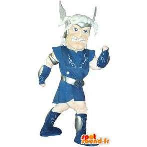 Mascot representerer en gallisk kriger, historisk kostyme - MASFR002056 - Maskoter Knights