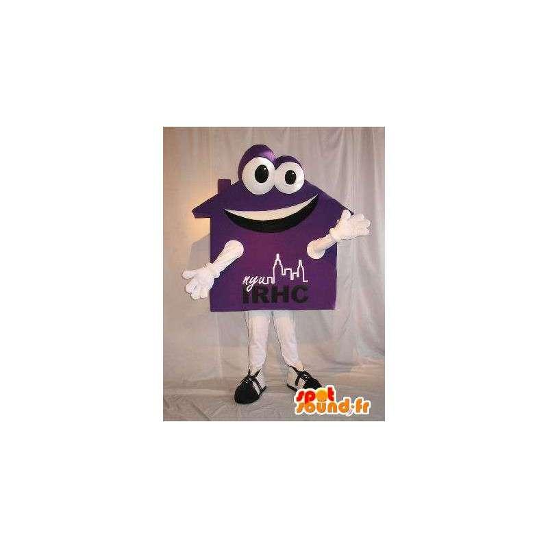 Mascot formet hus, eiendom forkledning - MASFR002059 - Maskoter Hus