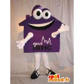 Mascot vormige huis, onroerend goed vermomming - MASFR002059 - mascottes Huis