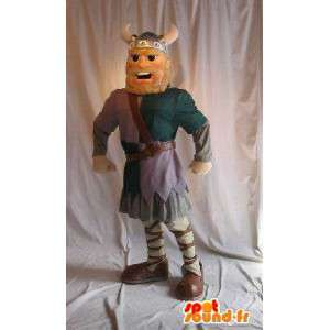 Mascote de um personagem gaulês, traje histórico - MASFR002067 - Mascottes Astérix et Obélix