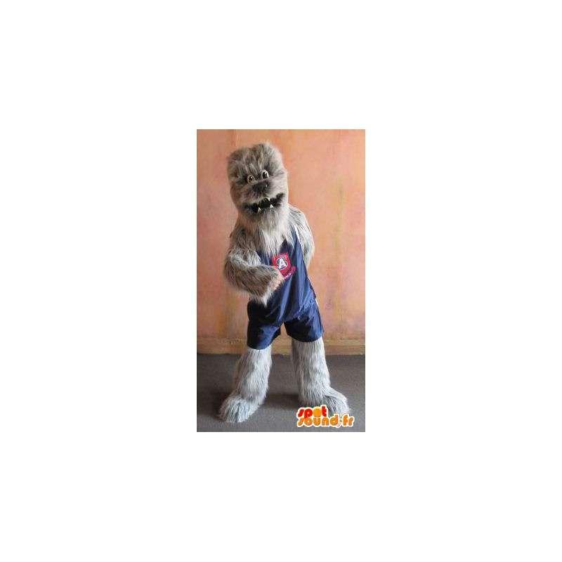 Disguise choubaka Basketball-Spieler Maskottchen Yeti - MASFR002072 - Sport-Maskottchen