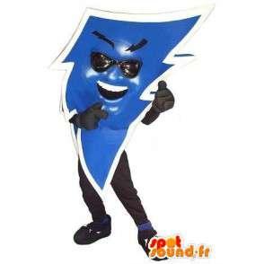 Maskotka w kształcie niebieski piorun, elektryczny przebranie - MASFR002074 - Niesklasyfikowane Maskotki