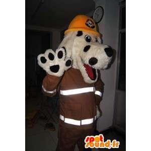 Dog Mascot, New York, brannmann kostyme - MASFR001703 - Dog Maskoter