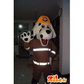Mascota del perro, Nueva York bombero, traje de bombero - MASFR001703 - Mascotas perro
