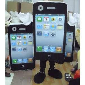 Mascotte téléphone portable IPHONE - MASFR002093 - Mascottes de téléphones