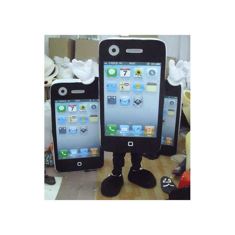 Mascot mobiele telefoon IPHONE - MASFR002093 - mascottes telefoons