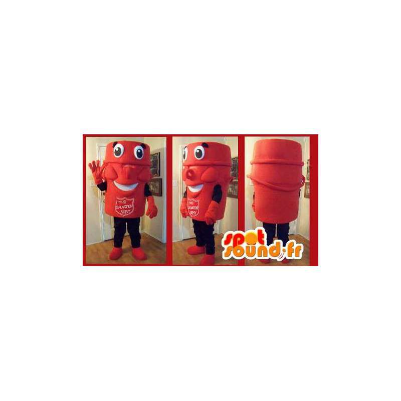 Mascot collectie cup, Fancy leger des Heils - MASFR002192 - mascottes objecten