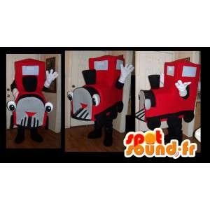 Mascot representando uma locomotiva do trem de idade - MASFR002200 - objetos mascotes