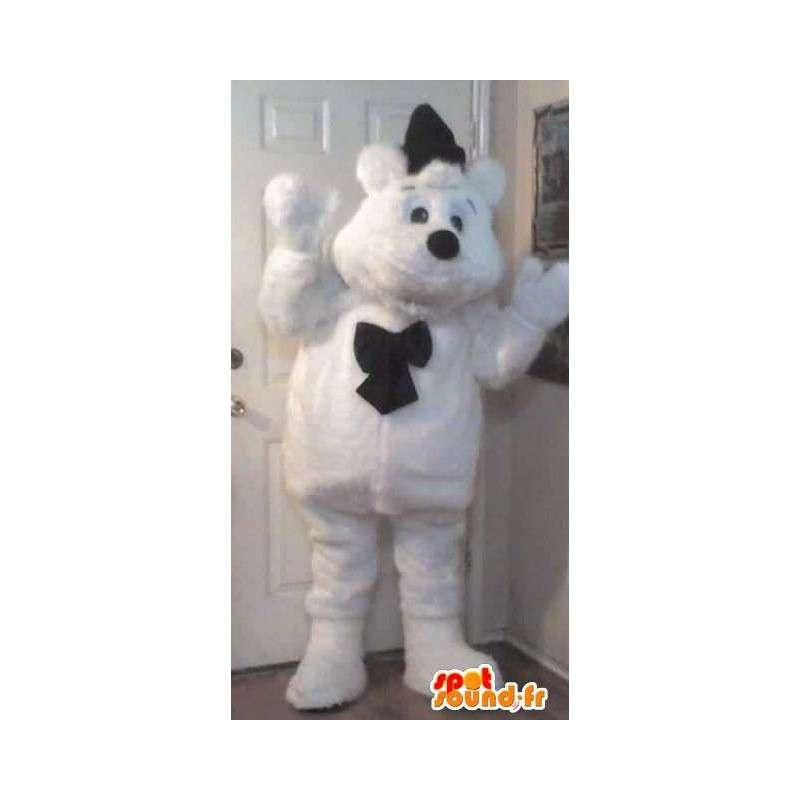 Mascot nallekarhu, nalle naamioida - MASFR002201 - Bear Mascot