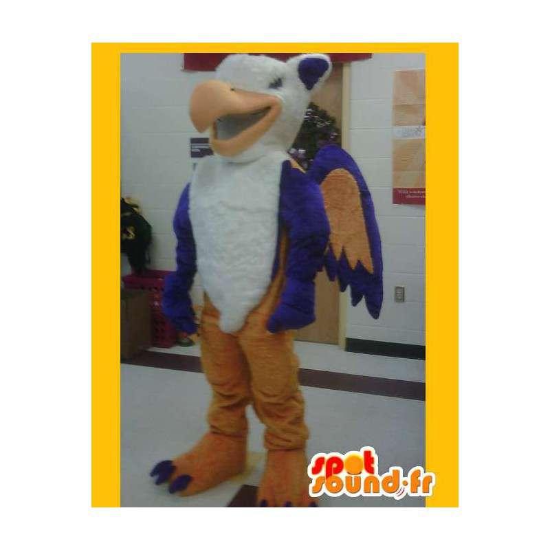 Mascot representing a Firebird, costume phoenix - MASFR002208 - Mascot of birds