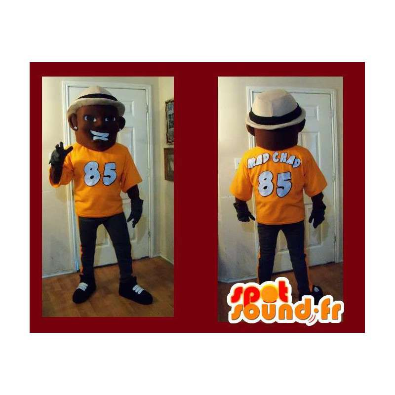 Mascot representing a character fashionable, stylish disguise - MASFR002211 - Human mascots