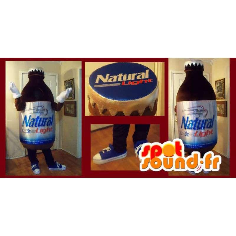 Maskotka reprezentujący małą butelkę, pić przebranie - MASFR002212 - maskotki Butelki