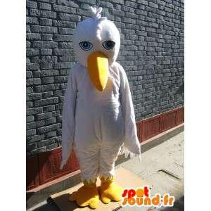 Mascotte Mouette sauvage - Costume d'oiseau - Envoi Rapide