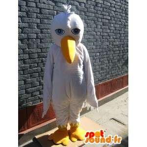 Seagull mascot Wild - Bird Costume - Send Fast