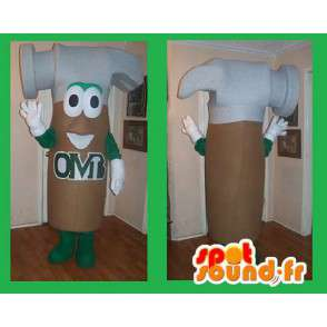 Hammer-shaped mascot costume handyman - MASFR002223 - Mascots of objects