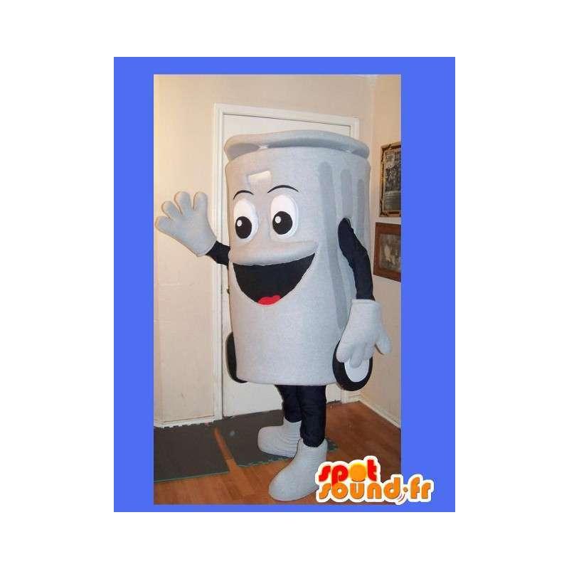 Mascot representing a trash clean disguise - MASFR002228 - Mascots home