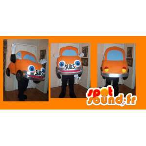 Maskot představující oranžové auto, slunéčko sedmitečné kostým - MASFR002238 - Maskoti objekty