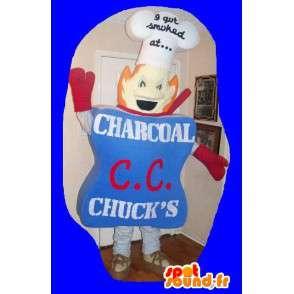 Representing a chef mascot costume shop - MASFR002239 - Human mascots