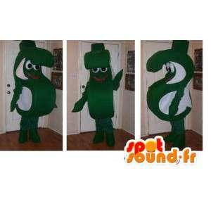 Mascotte en forme de lettre S, déguisement à pinces