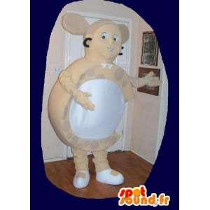 Costume brinco em forma de jóias mascote - MASFR002246 - Mascotes e Cabras Goats