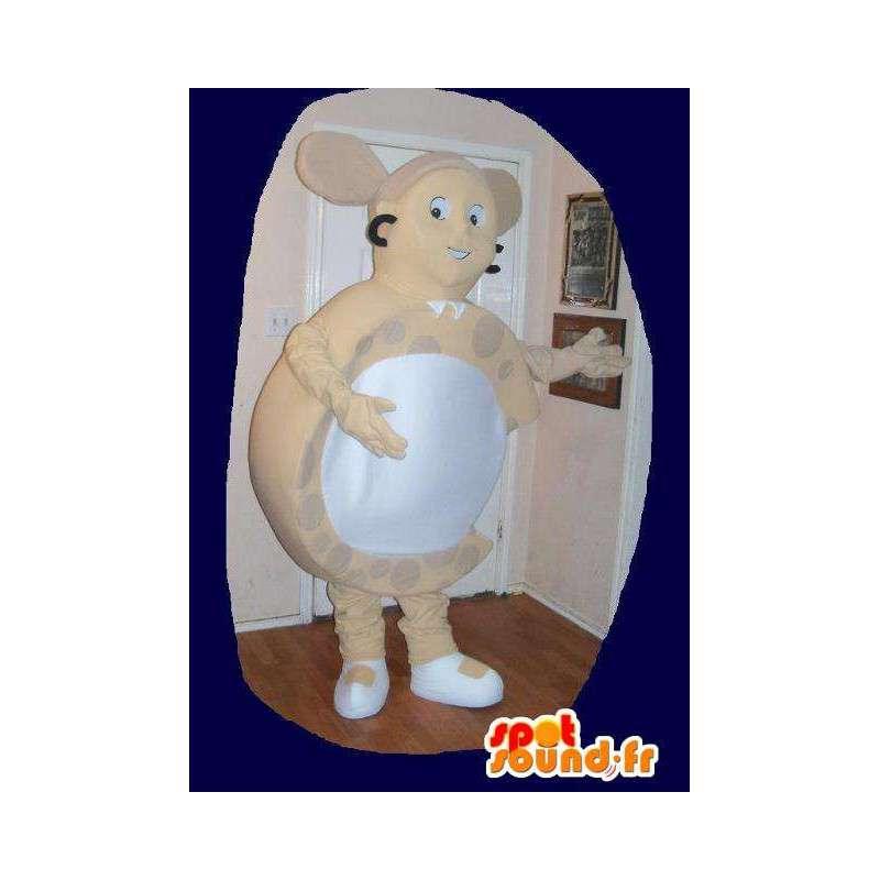 Costume formet øredobb smykker maskot - MASFR002246 - Maskoter og geiter Geiter