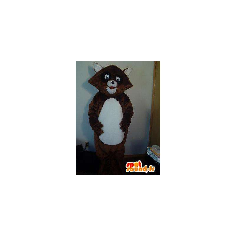 Mascot representerer en rev, plysj drakt - MASFR002248 - Fox Maskoter