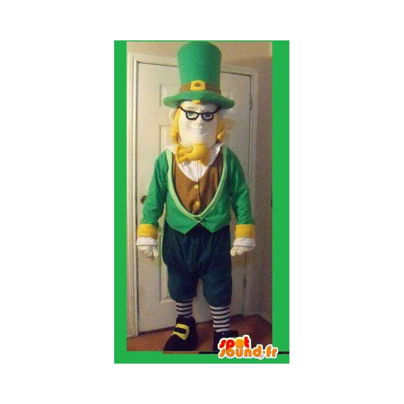 Mascot of a storybook character in top hat - MASFR002264 - Human mascots