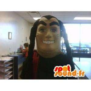 Mascot representando um personagem de olhar mestre de kung fu - MASFR002266 - Mascotes não classificados