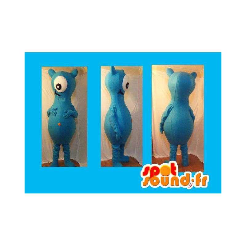 Maskottchen-Kostüm Zyklopen Raum fremd einem Auge - MASFR002269 - Fehlende tierische Maskottchen