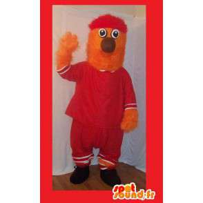 Furry mascot in sportswear, sports costume - MASFR002270 - Sports mascot