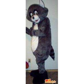 Mascot representing a small wolf cub disguise - MASFR002279 - Mascots Wolf
