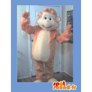 Mascot representerer en ape, morsom forkledning - MASFR002280 - Monkey Maskoter