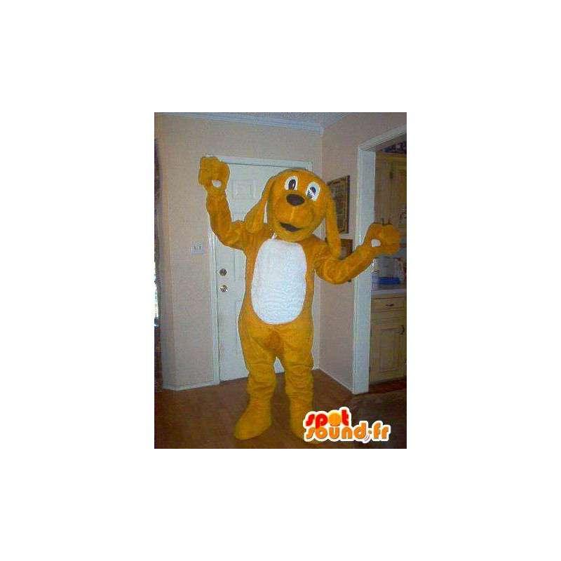 Representing a mascot puppy, cocker costume - MASFR002282 - Dog mascots