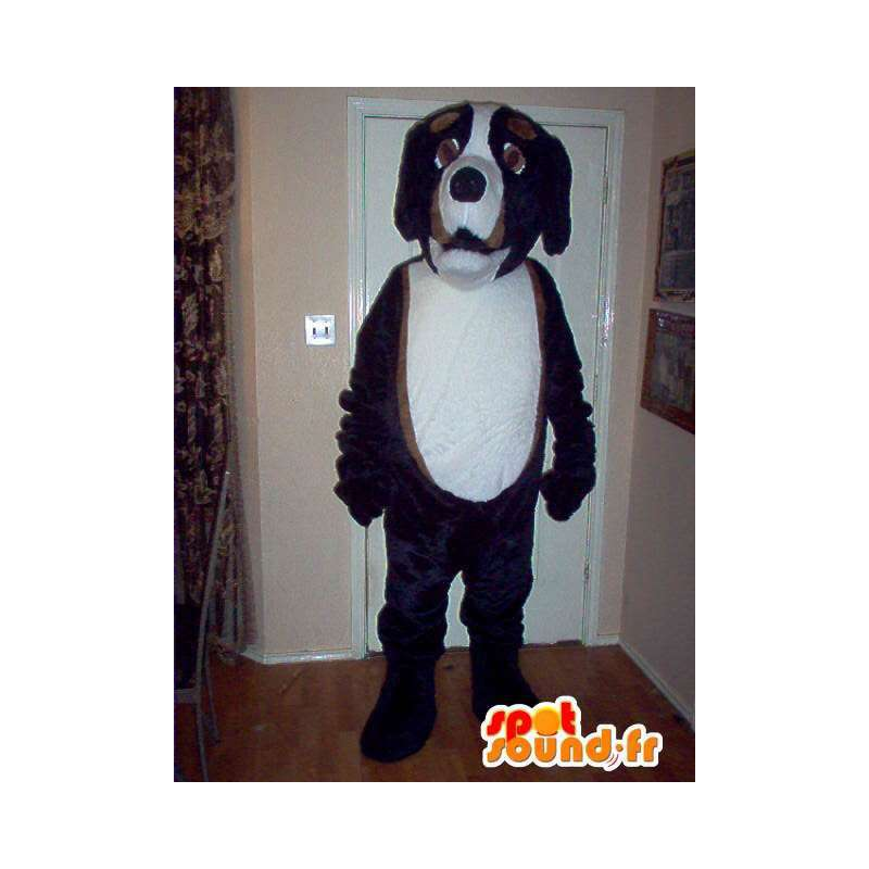 Saint Bernard mascot plush costume dog - MASFR002283 - Dog mascots