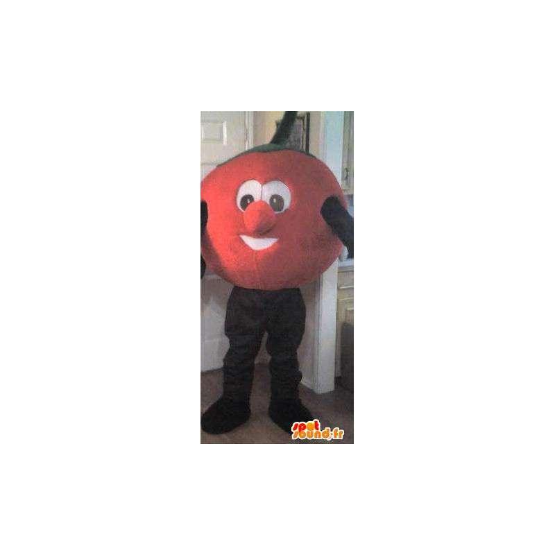 Maskottchen Charakter Kopf orange Kostüm Obst - MASFR002292 - Obst-Maskottchen