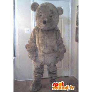 Maskotti edustaa pieni karhu, nalle naamioida - MASFR002306 - Bear Mascot