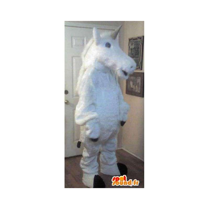 Fantastische Tiermaskottchenkostüm Einhorn - MASFR002309 - Fehlende tierische Maskottchen
