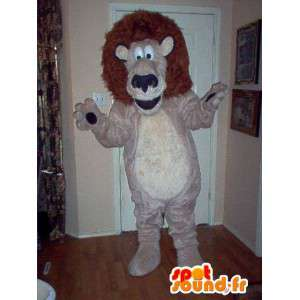 Mascot representing the king of beasts, lion disguise - MASFR002321 - Lion mascots
