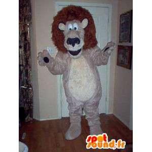 Maskotka reprezentująca Król zwierząt, lew kostium - MASFR002321 - Lion Maskotki