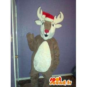 Mascot representerer et reinsdyr, caribou drakt - MASFR002324 - Forest Animals