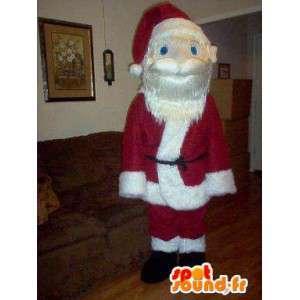 サンタクロースのマスコット、年末の休日の変装。 -MASFR002327-クリスマスのマスコット