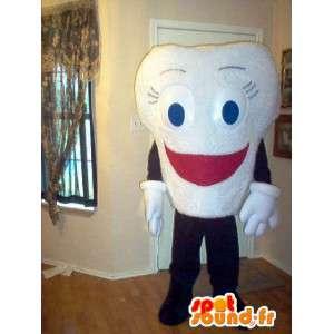 Mascot uiteenlopend lach tand verhullen - MASFR002331 - Niet-ingedeelde Mascottes