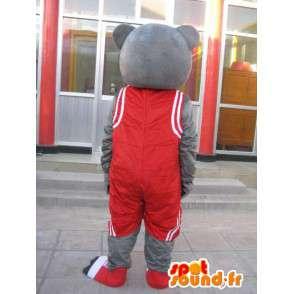 Bären-Maskottchen - Basketteur Houston Rockets - Yao Ming Kostüm - MASFR00194 - Bär Maskottchen